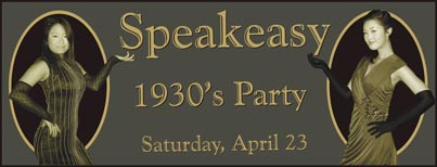 [Shanghai Speakeasy Party]