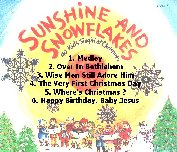 [Sunshine and Snowflakes Album Back]